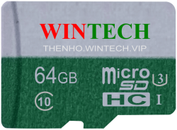 Thẻ Nhớ Thẻ nhớ SD WinTech 64GB Class 10