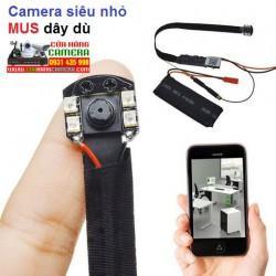 Camera IP WiFi Camera Wifi  siêu nhỏ MUS dây dù